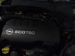 Motore con copertura
